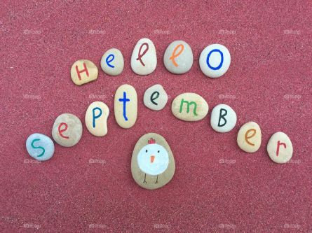 hello-september-with-stones-composition